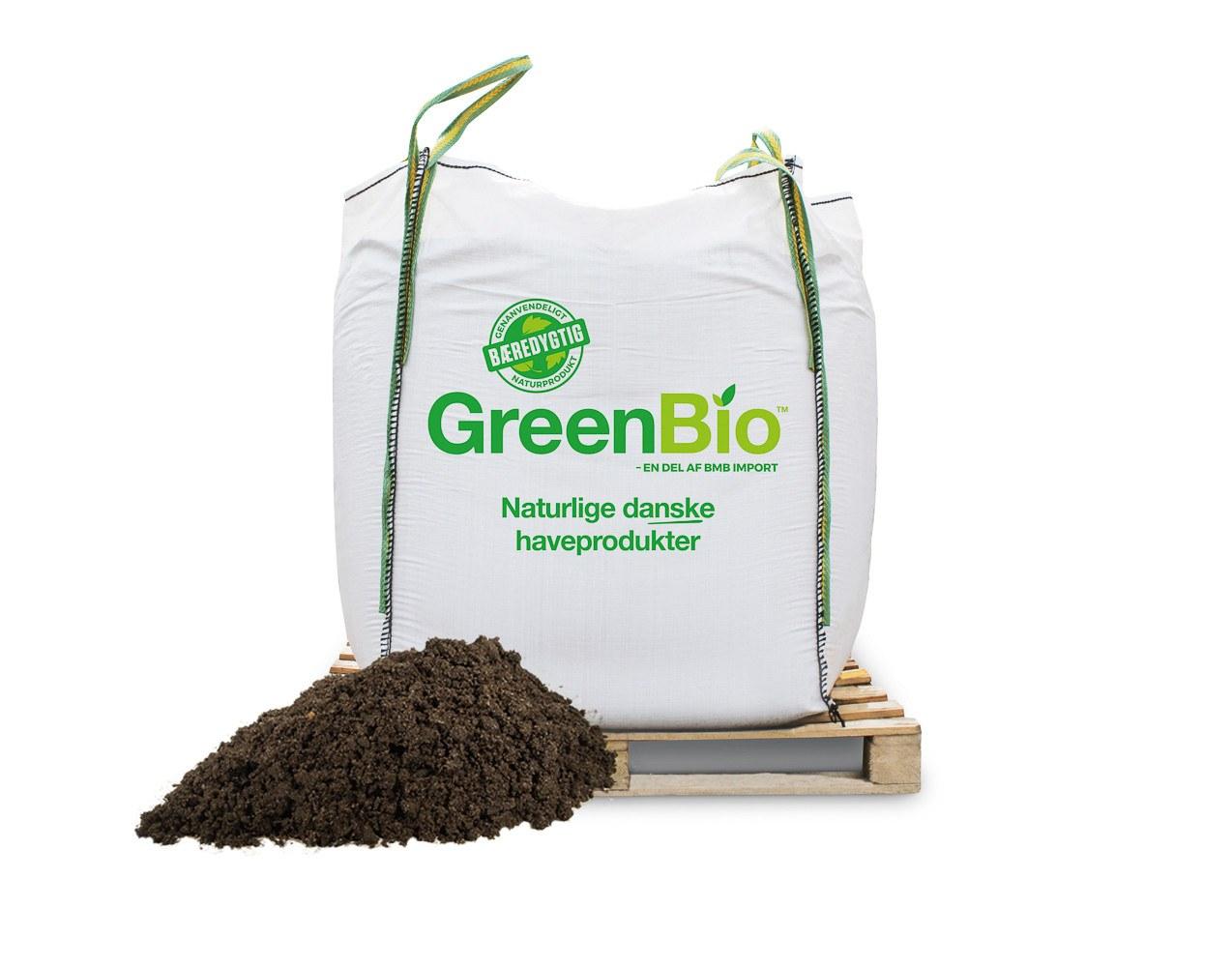 GreenBio Drivhusmuld - til økologisk dyrkning