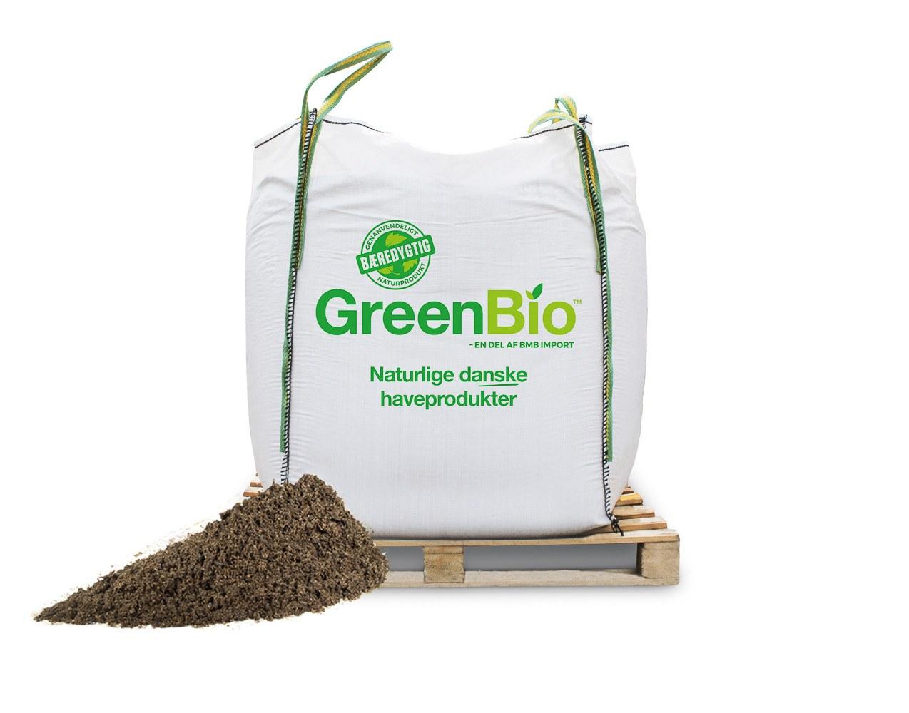 GreenBio Vækstmuld til økologisk dyrkning