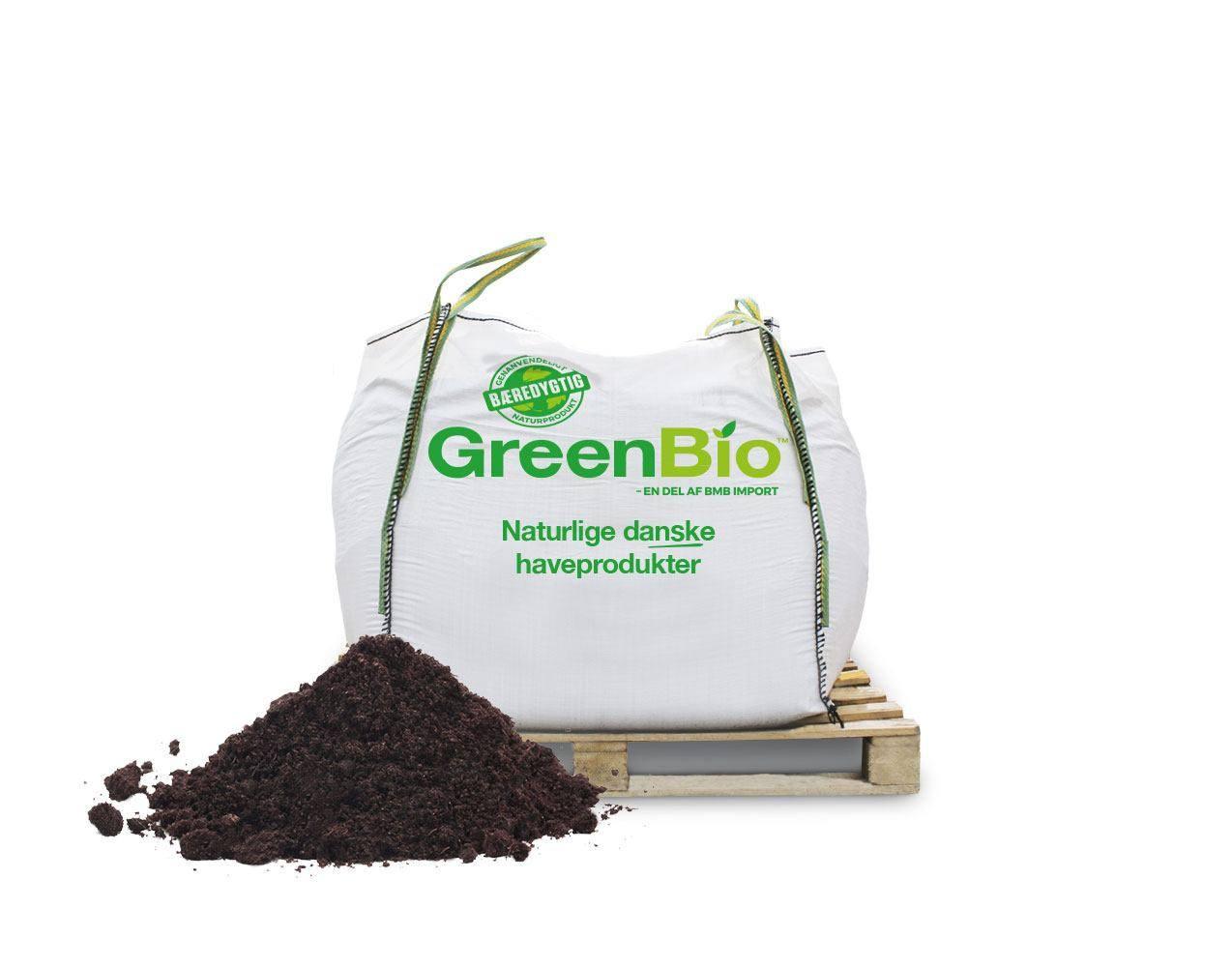 GreenBio højbedsmuld til økologisk dyrkning