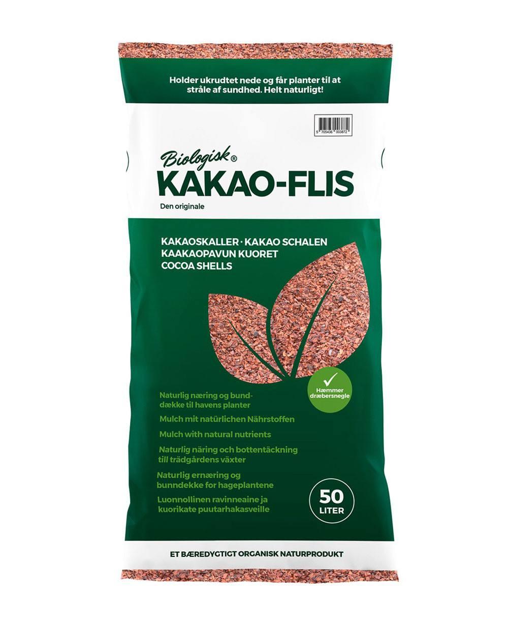 Kakao-Flis pose med 50 liter