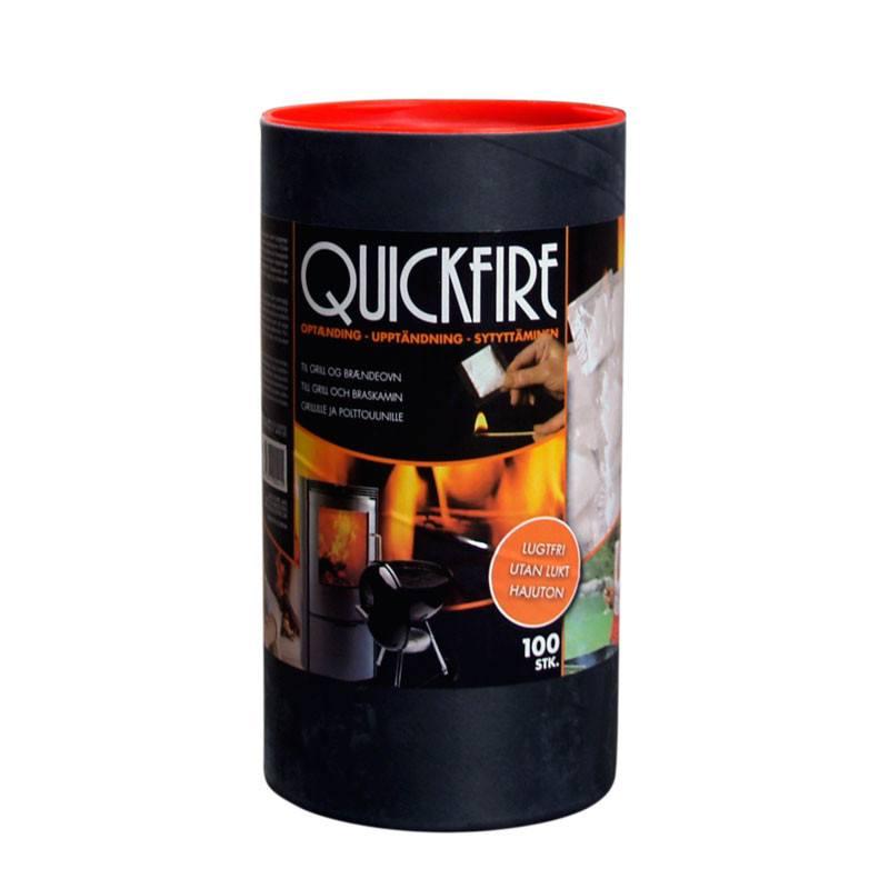 Quickfire optændingsbreve - 100 stk.