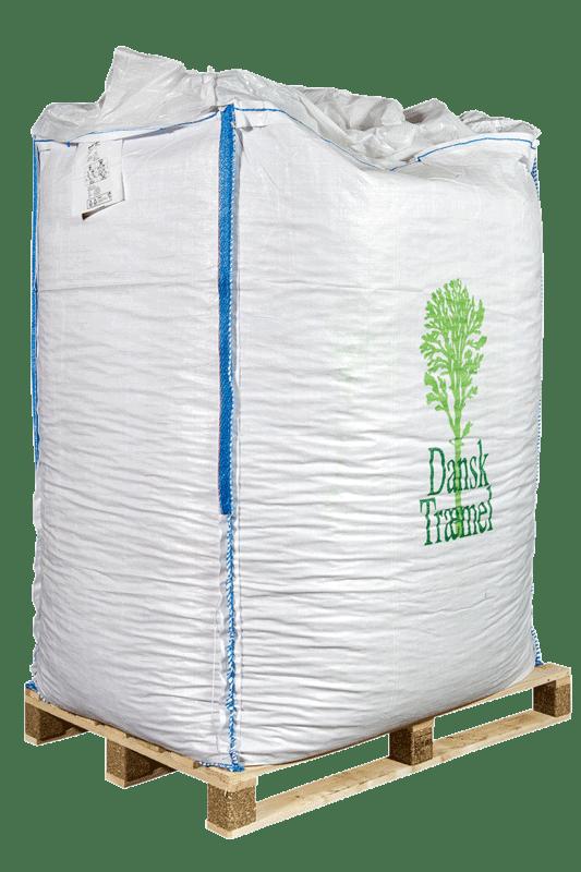 10mm træpiller af rent bøgetræ i bigbag