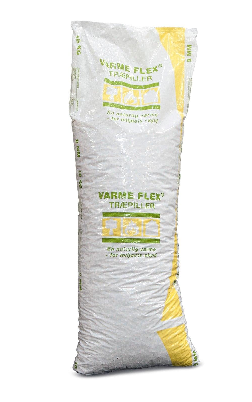 VIDA Varmeflex træpiller 6 mm - SJÆLLAND